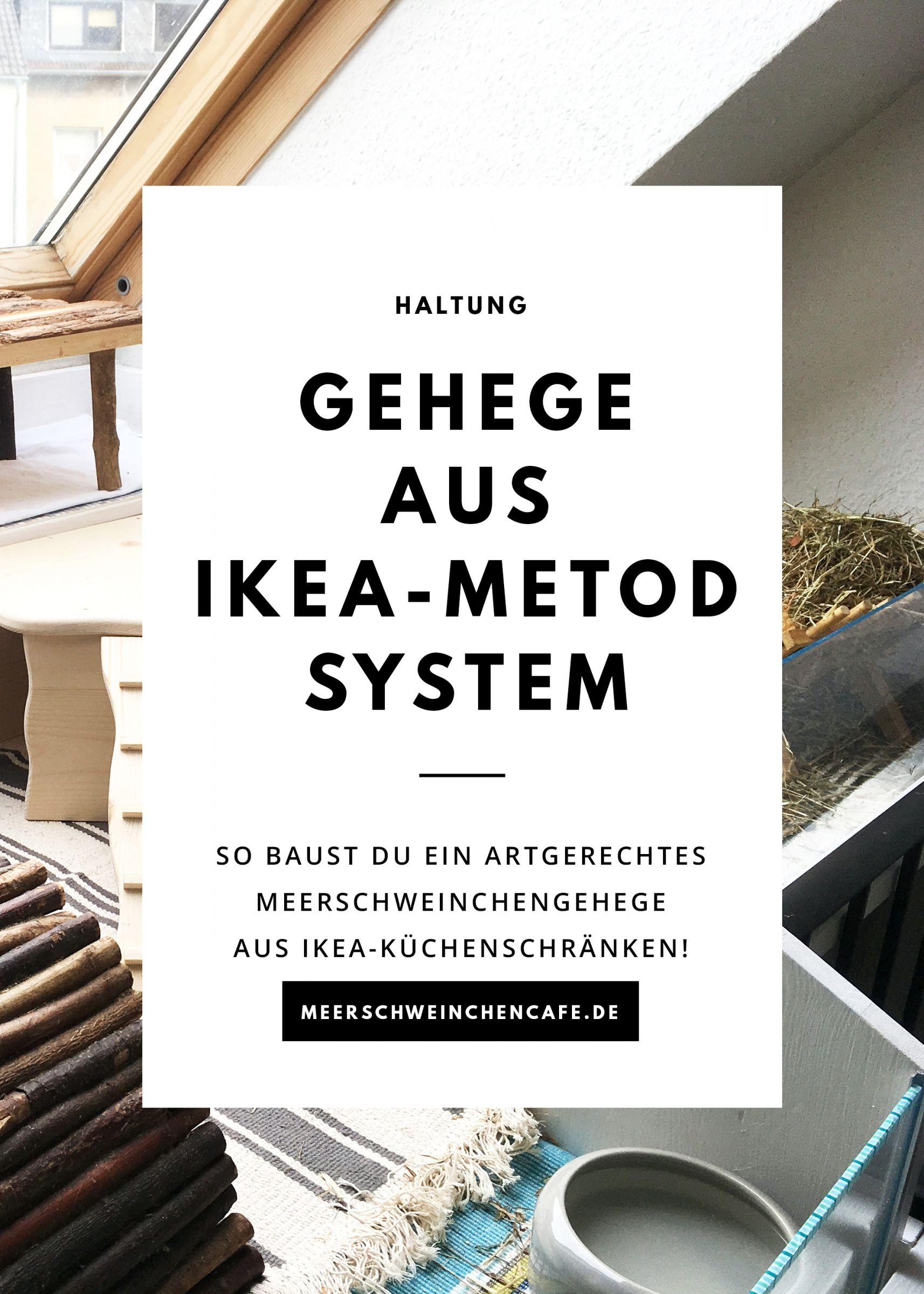 So Baust Du Ein Meerschweinchengehege Aus Ikea Kuchenschranken