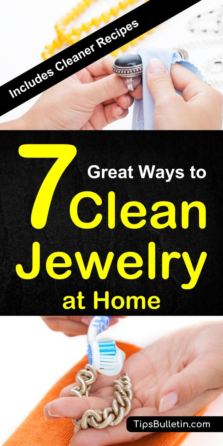 7 great ways to clean jewellery at home how to clean