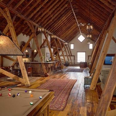 Attic Game Room Man Caves