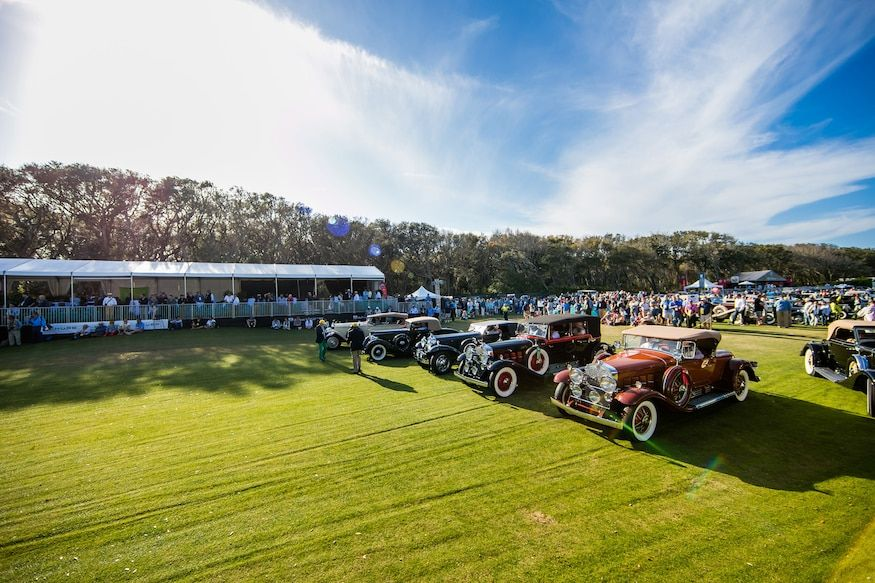 25th Anniversary of Amelia Concours d'Elegance in 2020