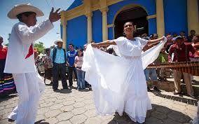 Yo bailé con las personas en las calles de Nicaragua.