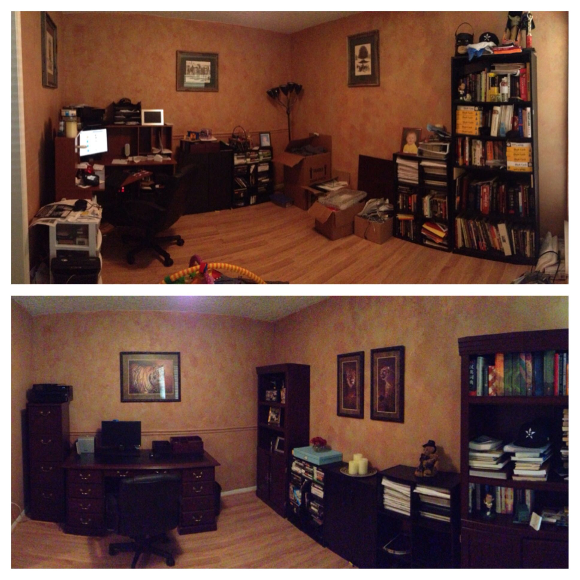 The Declutter Before After