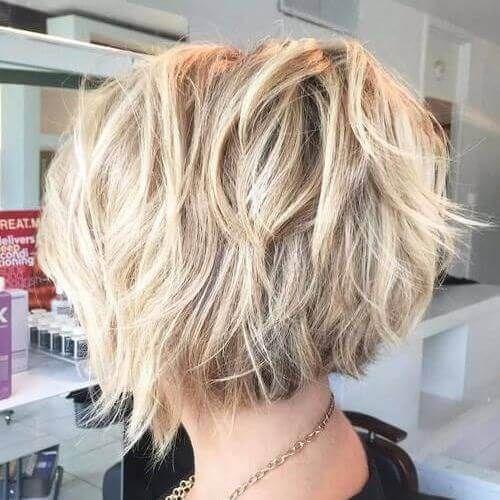Short Layered Haircuts For Thick Hair Cabelo Maquiagem E Beleza