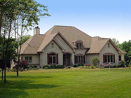 Plan Traditional, French Country, Sloping Lot, European, Photo Gallery House  Plans U0026 Home Designs