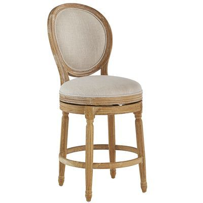 The Aristocratic Eliane Swivel Counter Stool Is A Direct
