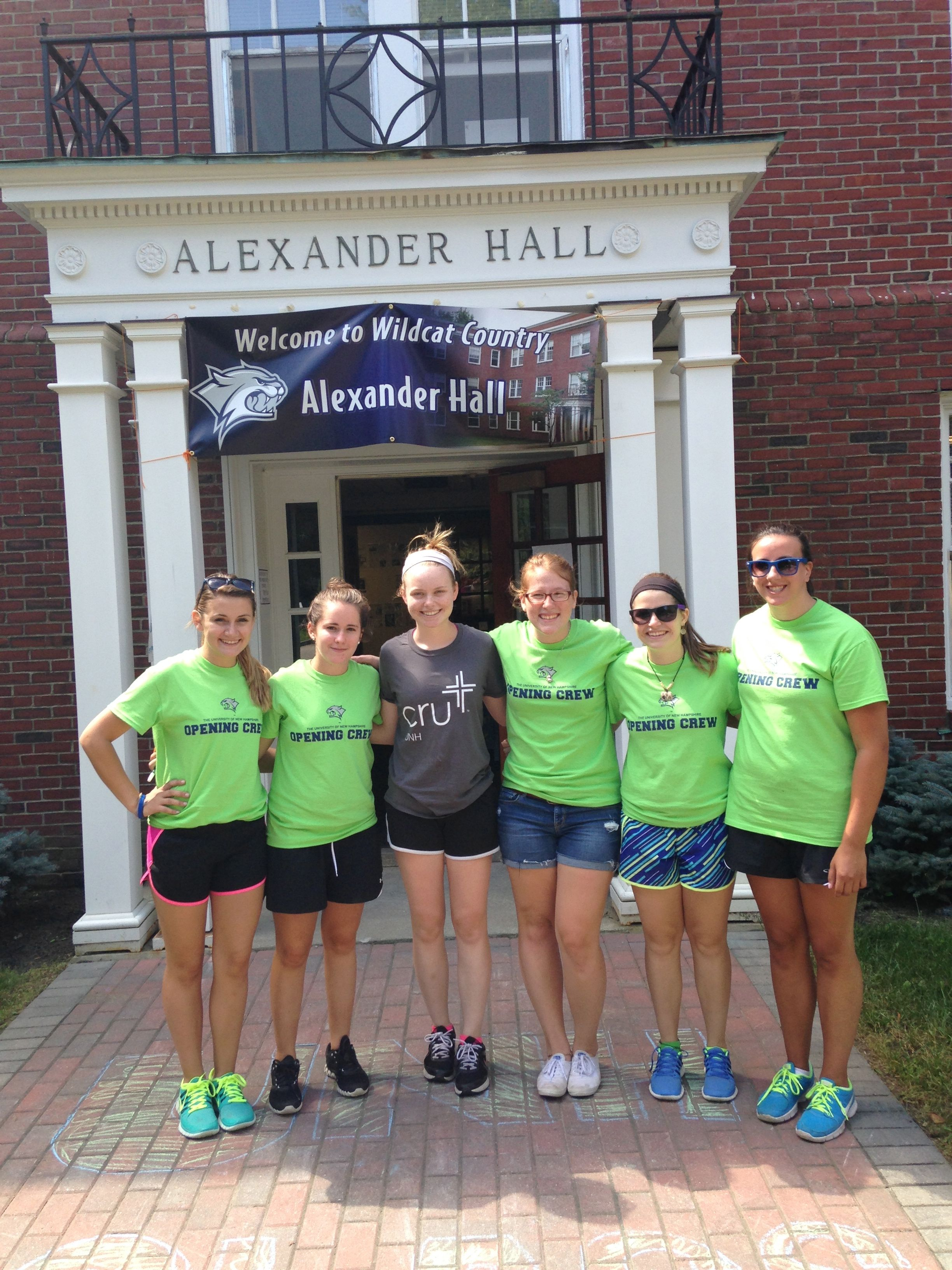 Welcome to alexander hall at the university of new hampshire unhsocial