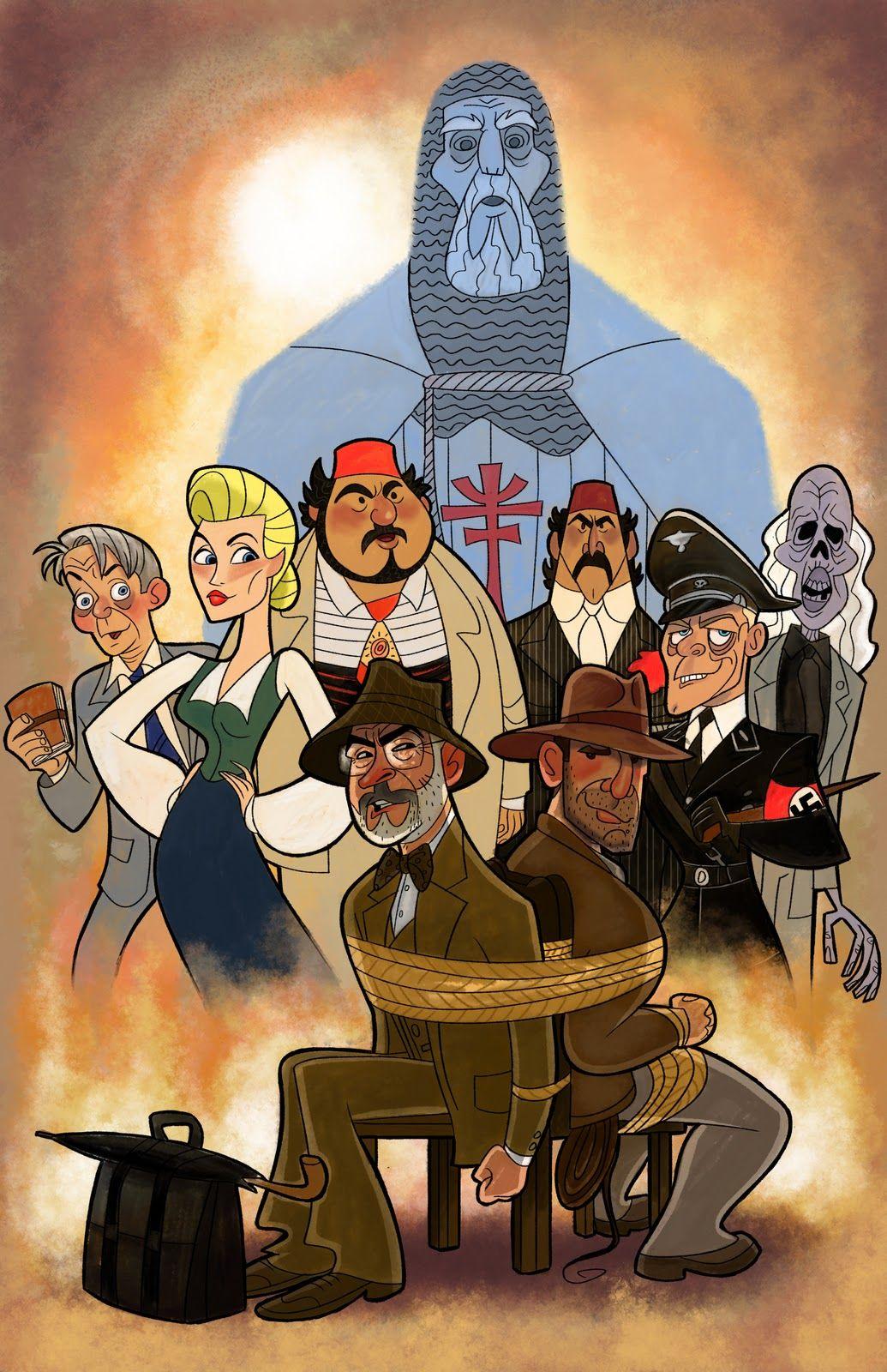 Dork Art Indiana Jones And The Last Crusade Indiana Jones Films Indiana Jones Character Design