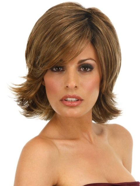 layered hair styles for medium length hair for square faces 2