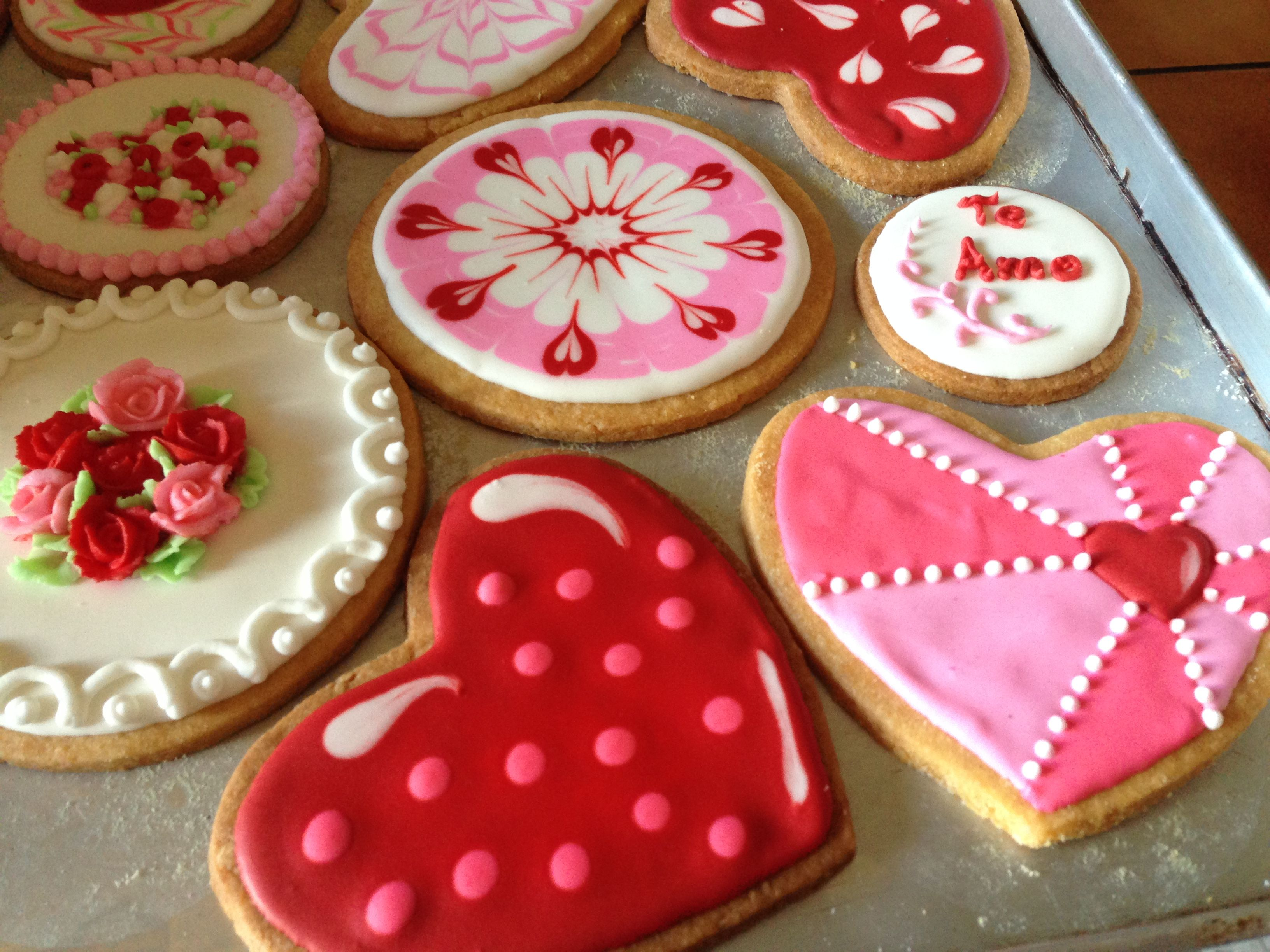 Valentines Day Cookie Decorating Ideas Valentines Day Cookies Cookie Decorating Sugar Cookie