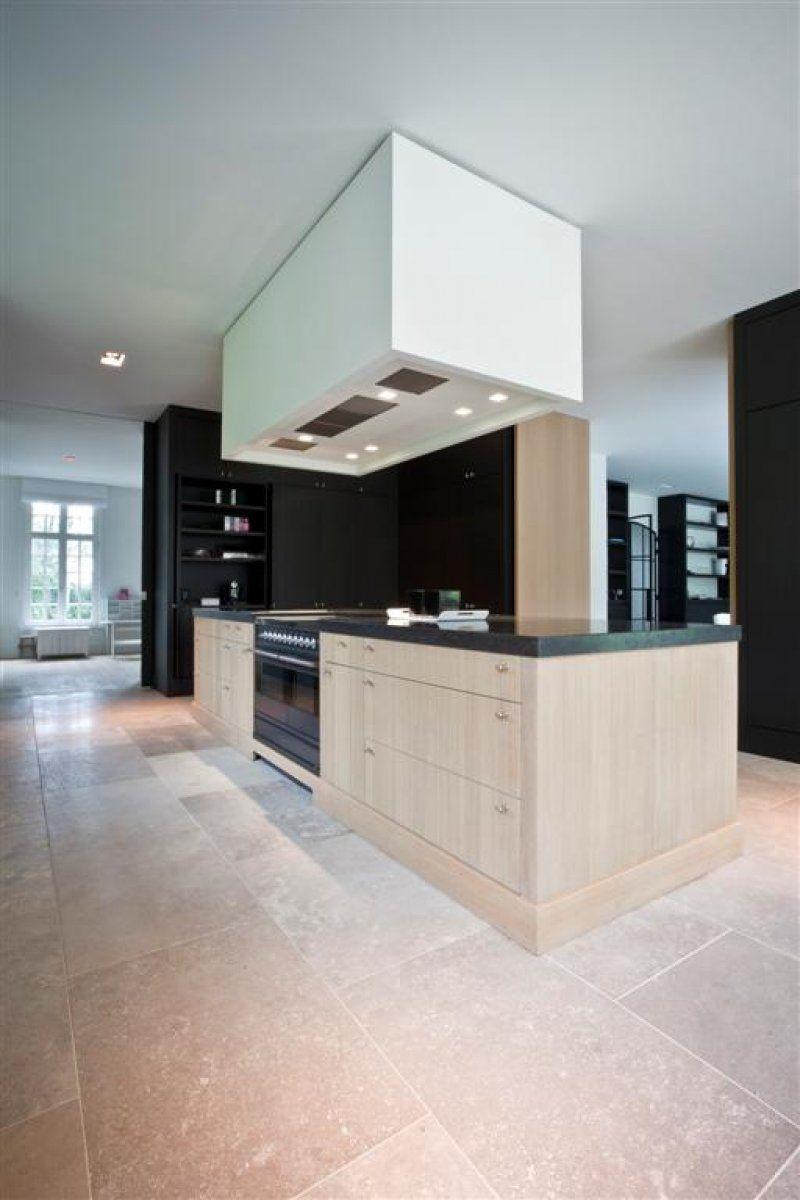 Exclusieve Italiaanse Travertin Kersbergen Keuken Interieur Vloeren Moderne Keukens