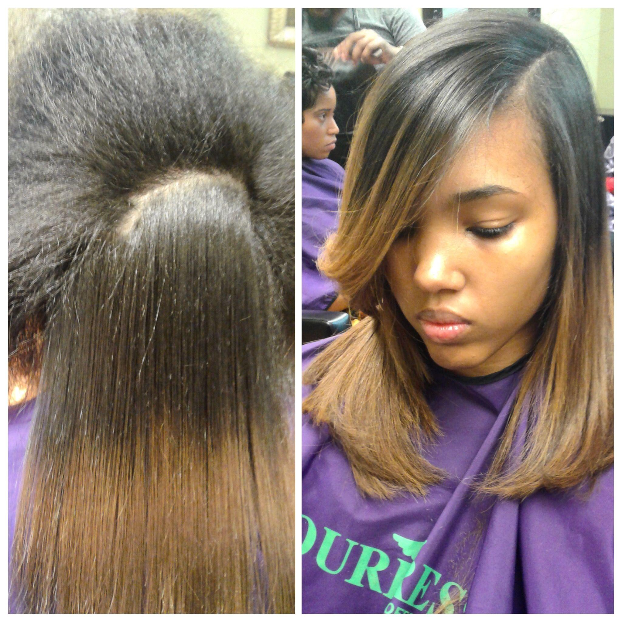 Silk Press By Brandon Silk Press Natural Hair Natural Hair Highlights Natural Hair Styles