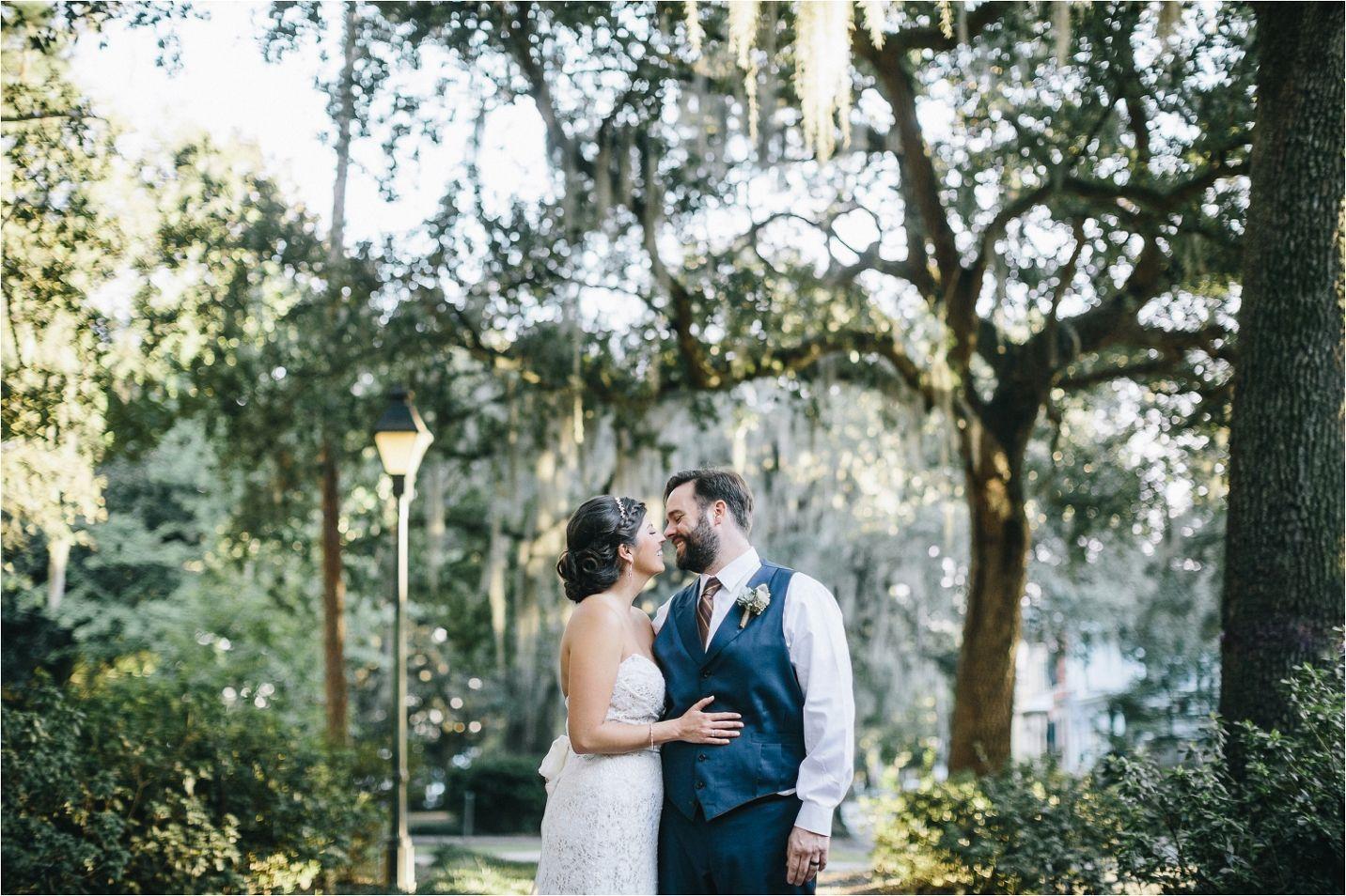 Amanda + Patrick | Real Wedding | Chatham Square, Local 11 Ten| Savannah Wedding Photographer, Wedding, Lace, Wedding Dress, Bride, Groom, Historic District, Downtown Savannah, Lace, Bouquet, Gastonian www.MackenseyAlexander.com