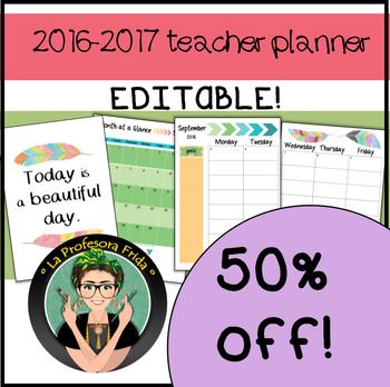 Teacher Planner 2016-2017 {EDITABLE!} Forms, organization, Aztec - task manager spreadsheet template