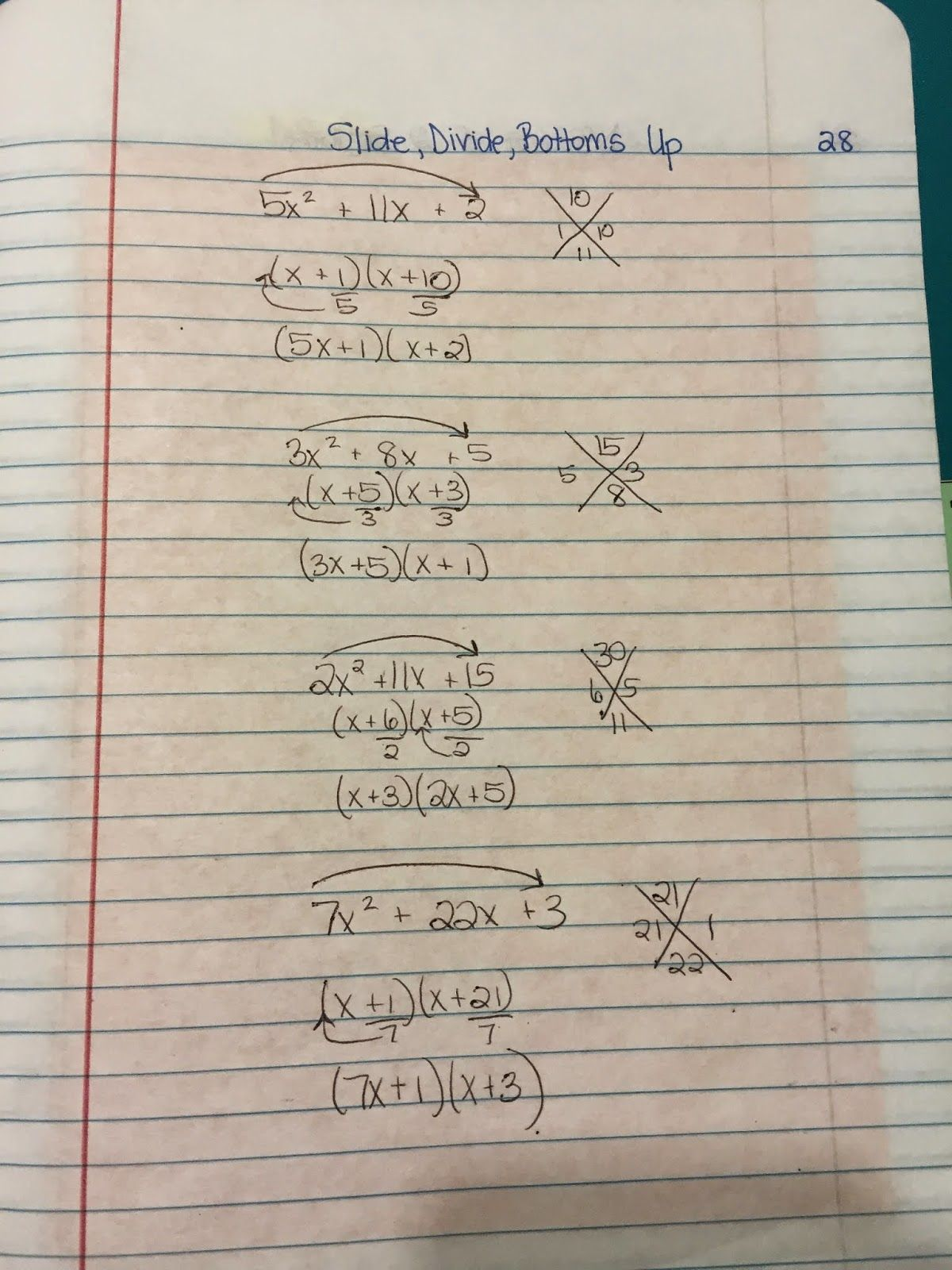 Misscalcul8 Algebra 2 Unit 3 Factoring In