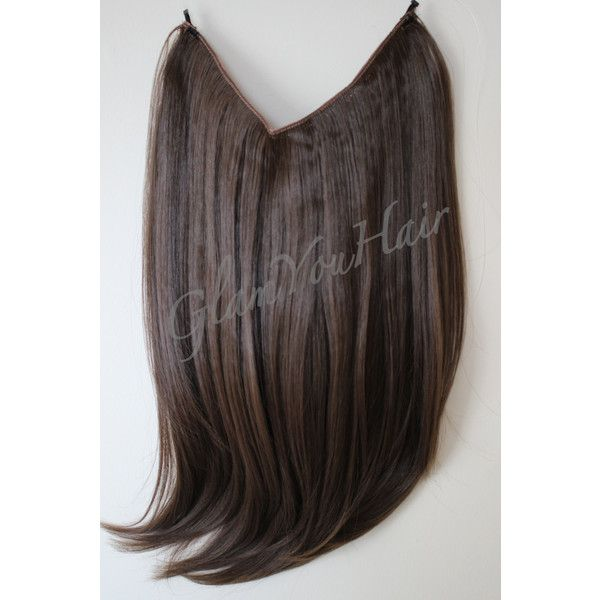 16-18 Secret Syn Halo Wire Hair Extension 140 grams/many Colours ...