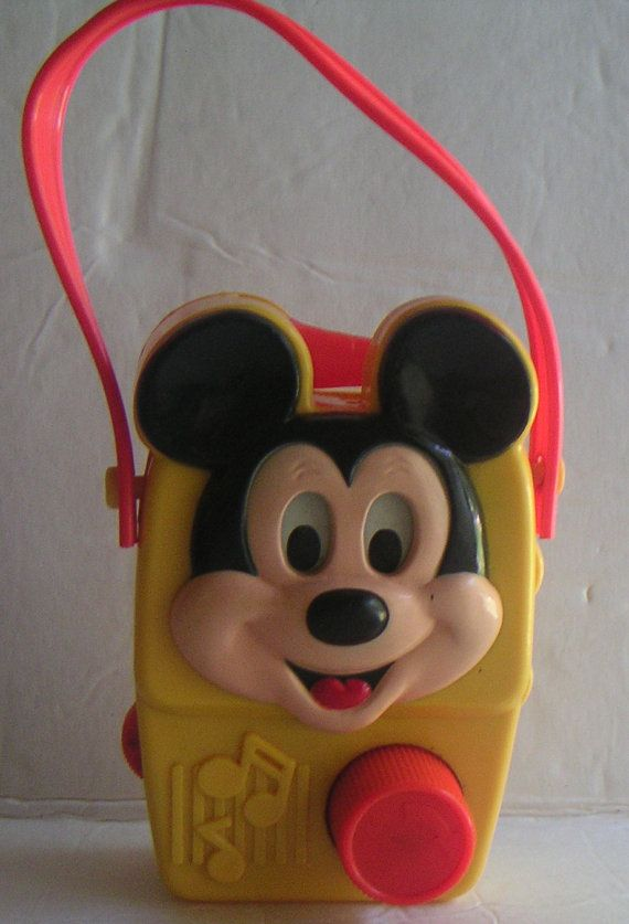 Vintage Mickey Mouse Wind Up Music Radio Walt Disney Etsy Vintage Mickey Vintage Mickey Mouse Mickey Mouse