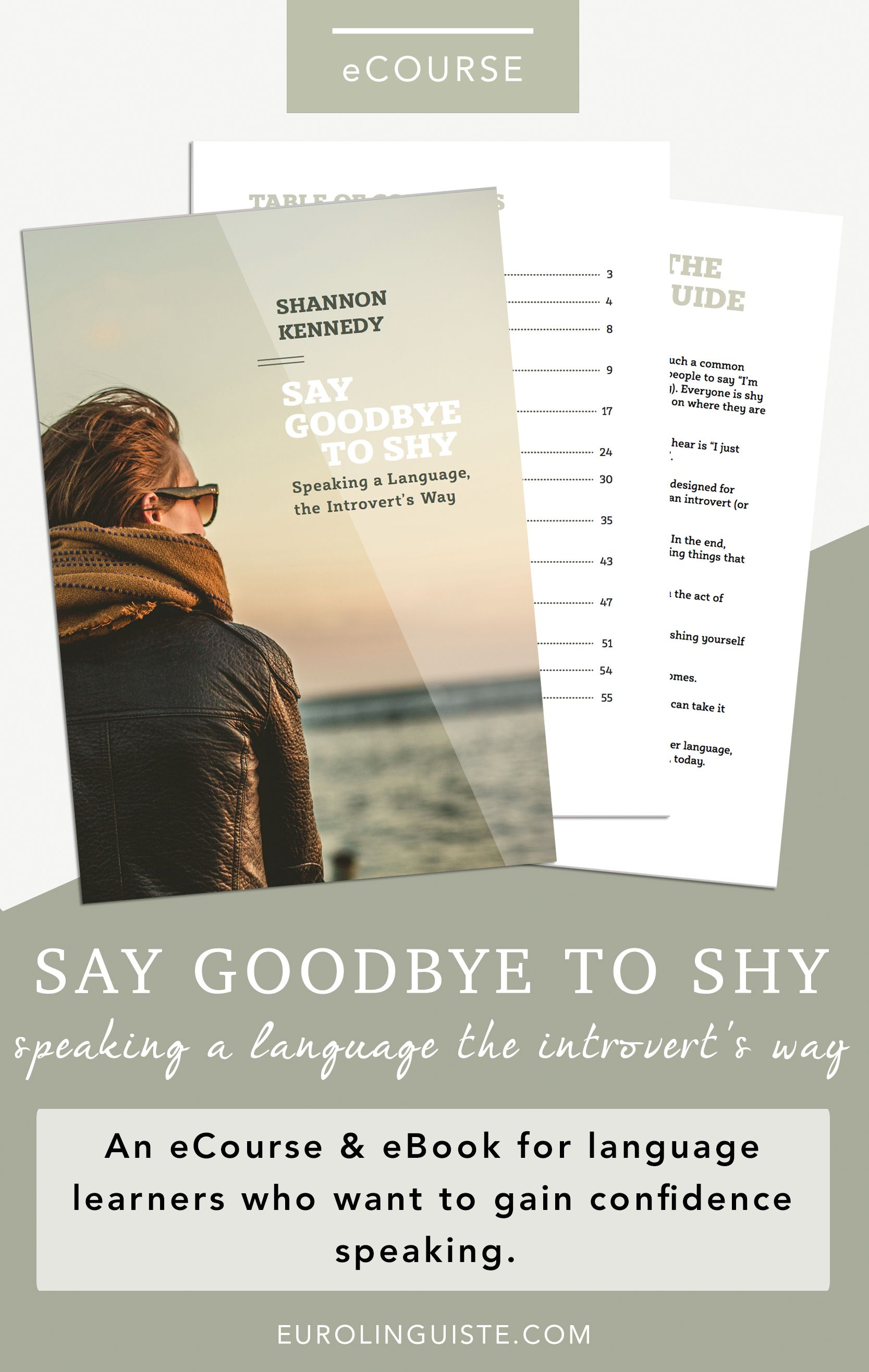 Introducing my new ecourse for language learners say