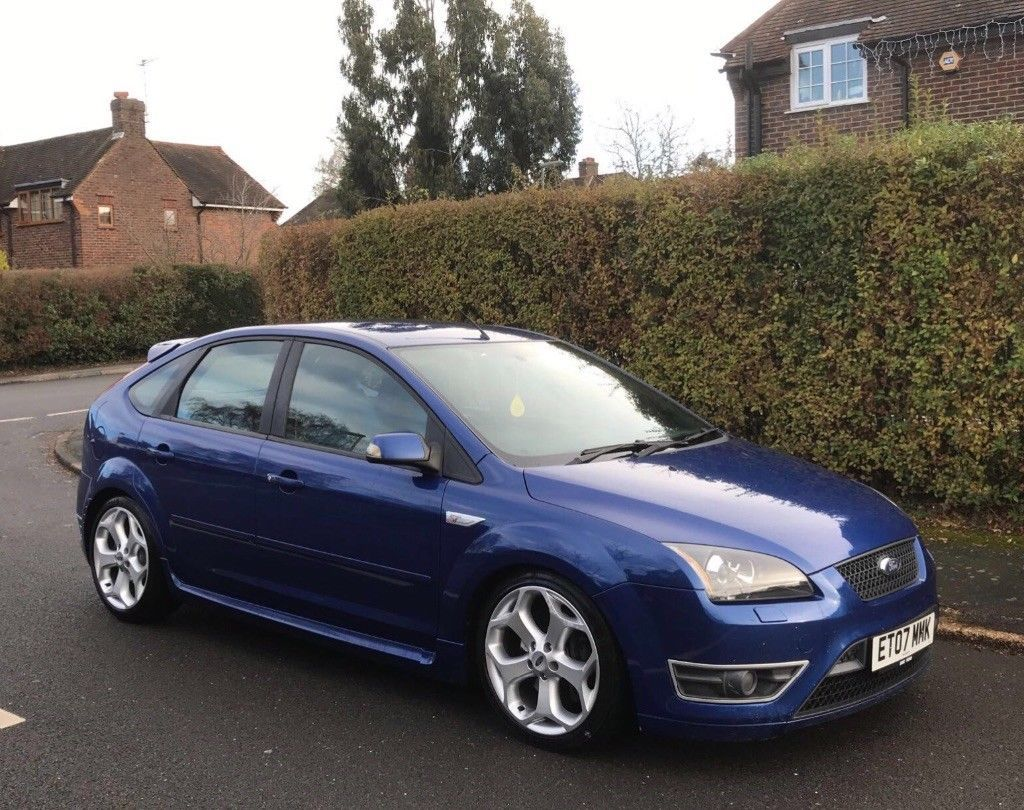 Ford Focus St 2007 81k Miles 2 5 Turbo 5 Door Xeon Lights Coches