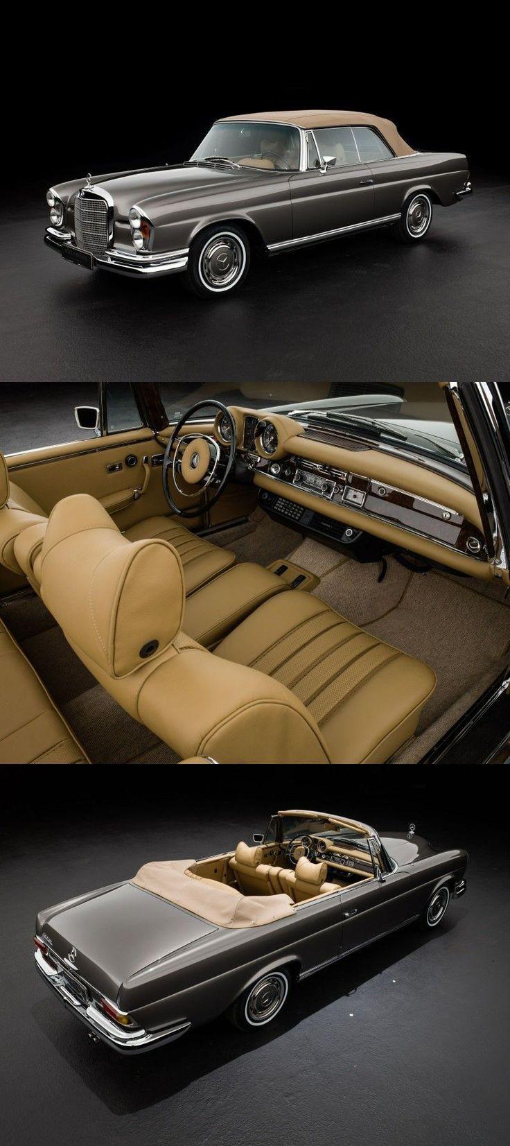 1969 Mercedes Benz 280 SE 3.5 V8 Cabriolet