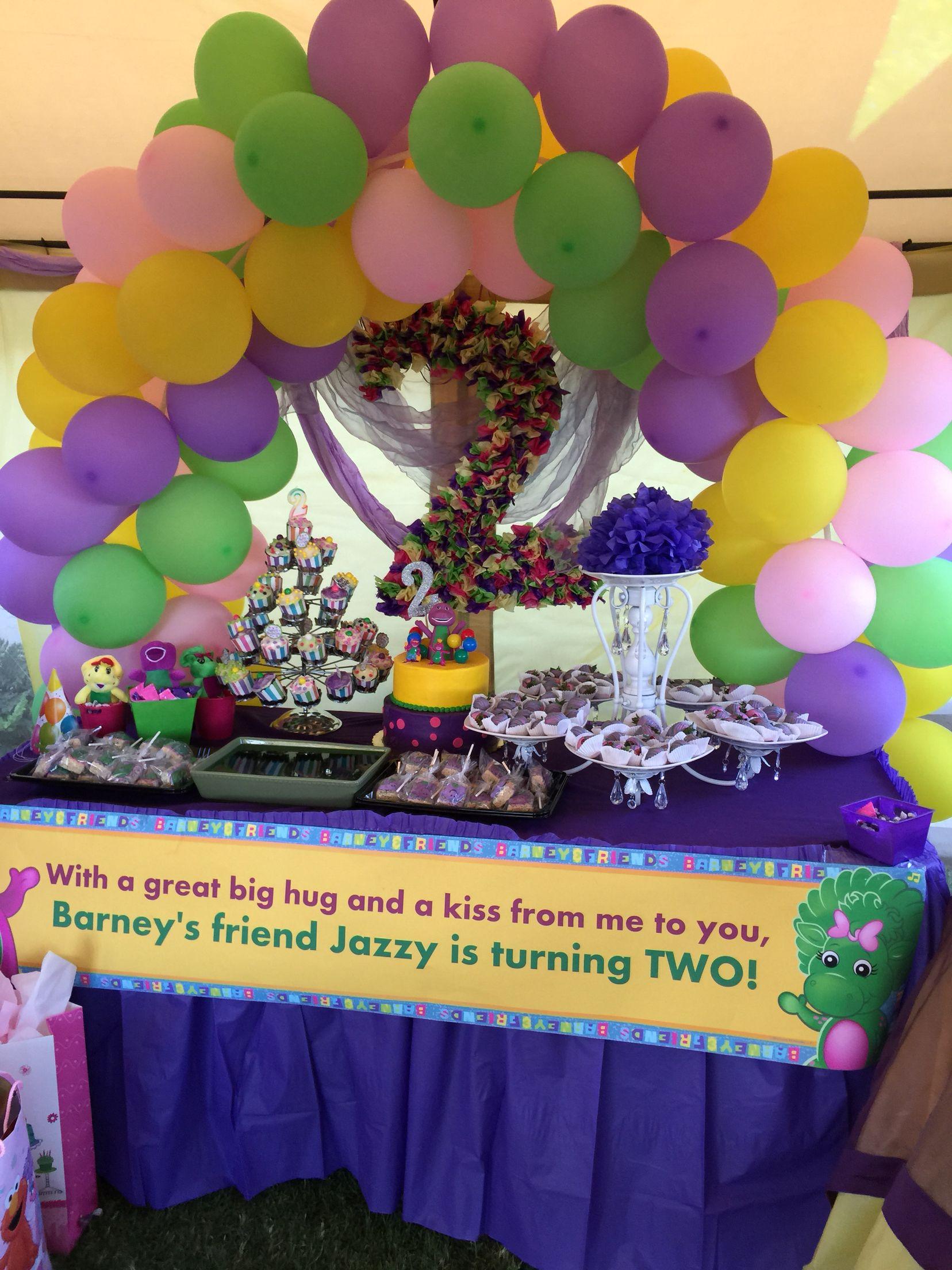 Barney birthday party | Birthday | Pinterest | Barney birthday ...
