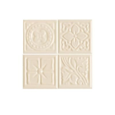 Decorative Accent Ceramic Wall Tile Magnificent Daltile Fashion Accents Almond 2 Inx 2 Inceramic Decorative Design Decoration