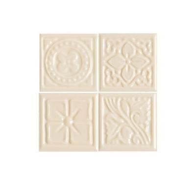 Decorative Accent Ceramic Wall Tile Simple Daltile Fashion Accents Almond 2 Inx 2 Inceramic Decorative Review