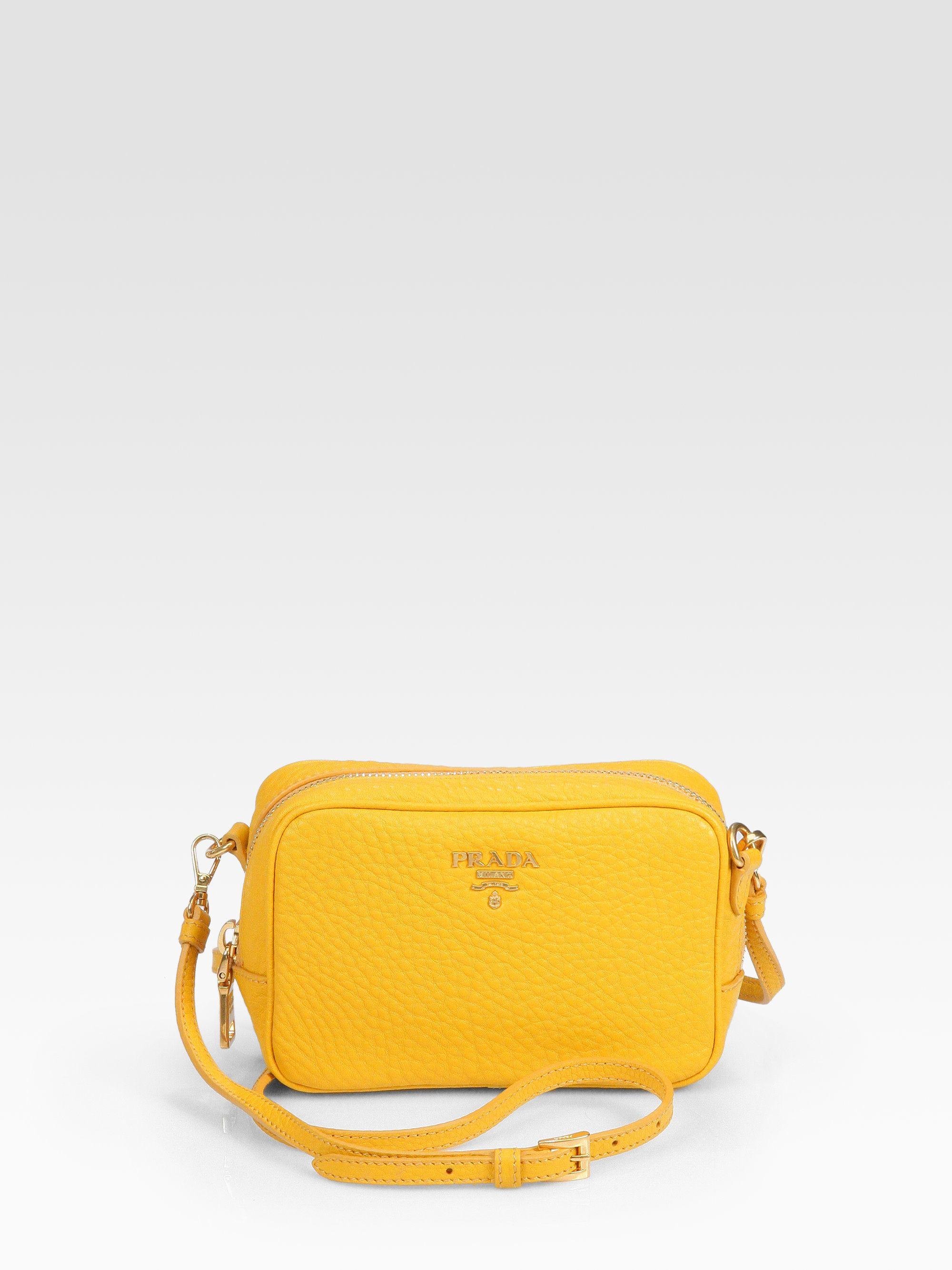 Prada Bag Yellow