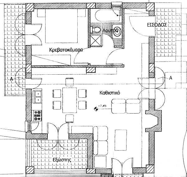 Floor Plan Concrete Skeleton For Sale Modern House Plans Modern House Floor Plans Modern House Plans Floor Plans
