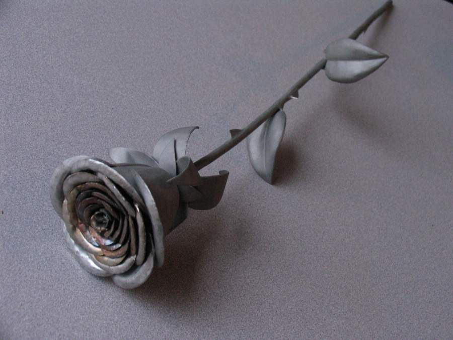 Stainless Steel Rose From Scrap Metal | Scrap, Metals and ...