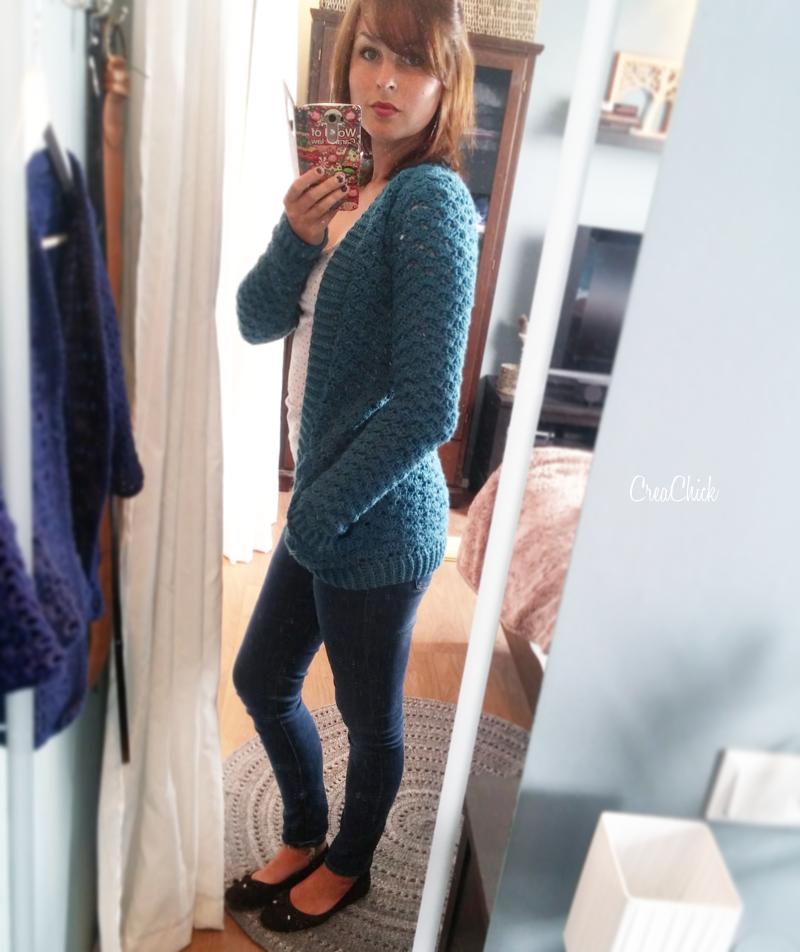 Lang Vest Schelpenvest Haken Haken Kleding Pinterest Crochet