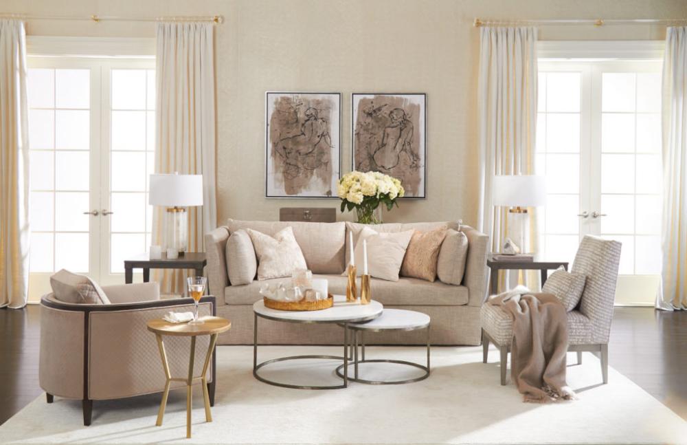Rethink Elegant Design New Relaxed Modern Ethan Allen The Art Of Making Home Living Room Decor Modern Modern Cozy Living Room Living Room Decor Neutral