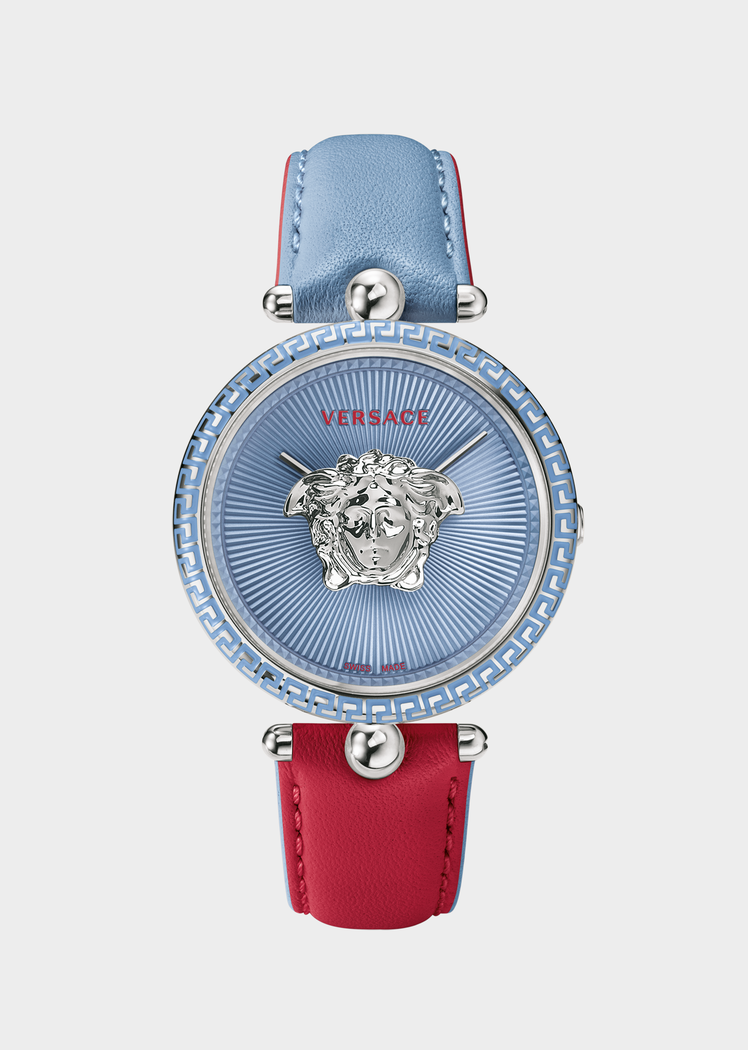 974f734626 Versace Red-blue Palazzo Empire Watch for Women | US Online Store. Red-blue Palazzo  Empire Watch from Versace Women's Collection. Feminine. Exquisite.