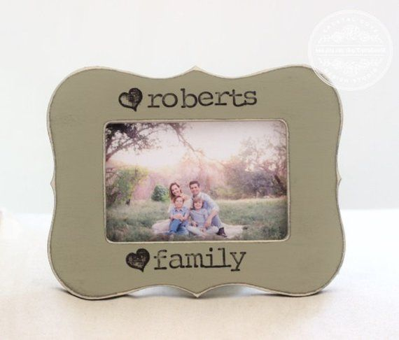 Family GIFT Parents Grandparents New Home Housewarming Wedding Anniversary Personalized Picture Fram
