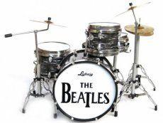 Beatles Ringo Starr - Ludwig Miniatuur drumstel