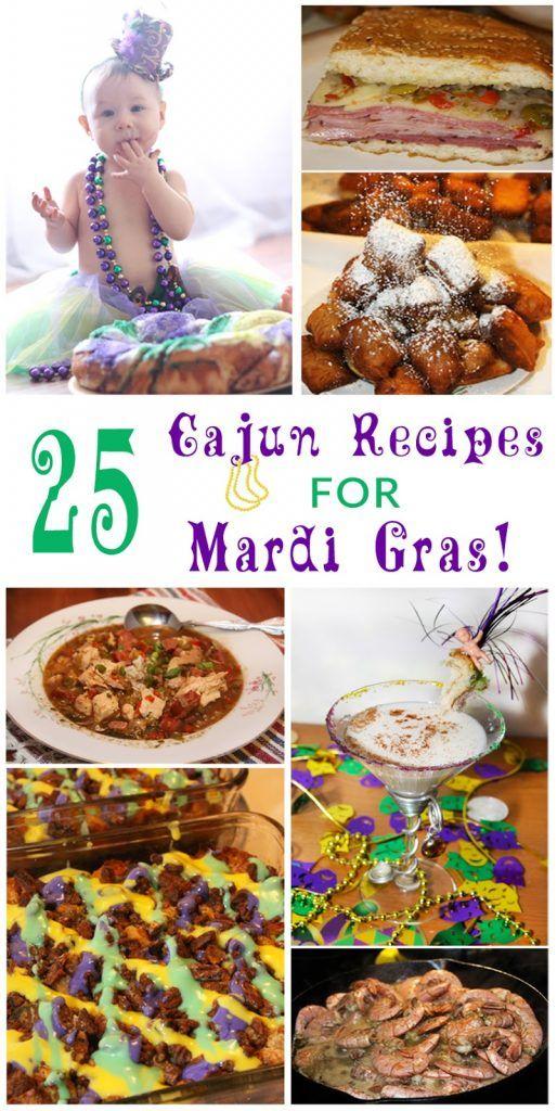 25 Cajun Recipes for Mardi Gras #cajundishes
