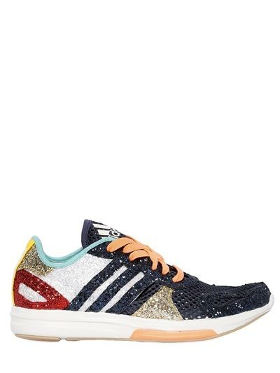 factory price 68722 06d1a Adidas By Stella Sport - Yvori Glittered Training Sneakers. Adidas By Stella  Sport - Yvori Glittered Training Sneakers Zapatos ...