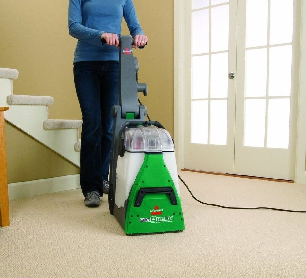 Heavy Duty Carpet Cleaner Bissell Machine Deep Cleaning Rug Vacuum