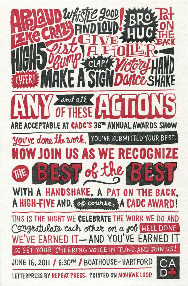 Chris Piascik letterpress | Type & Lettering | Typography