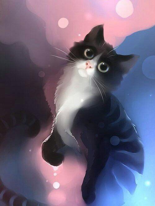 Котята аниме картинки