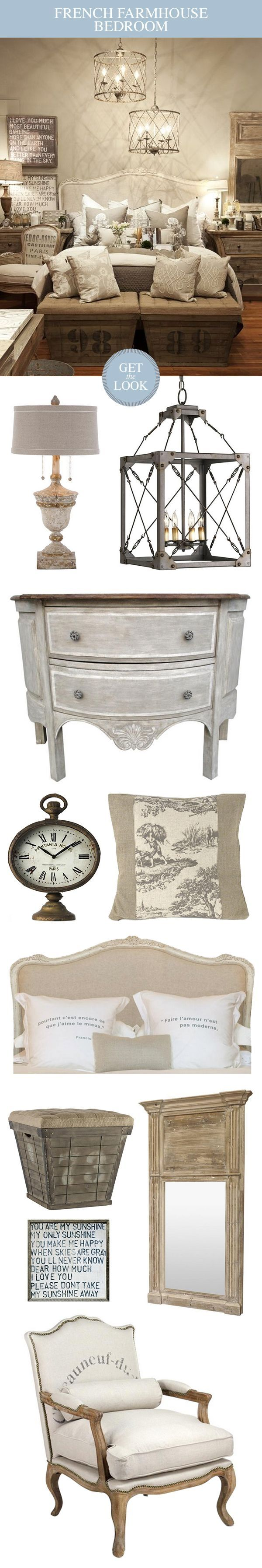 Grey french country bedroom whatus not to love about this french country farmhouse inspired