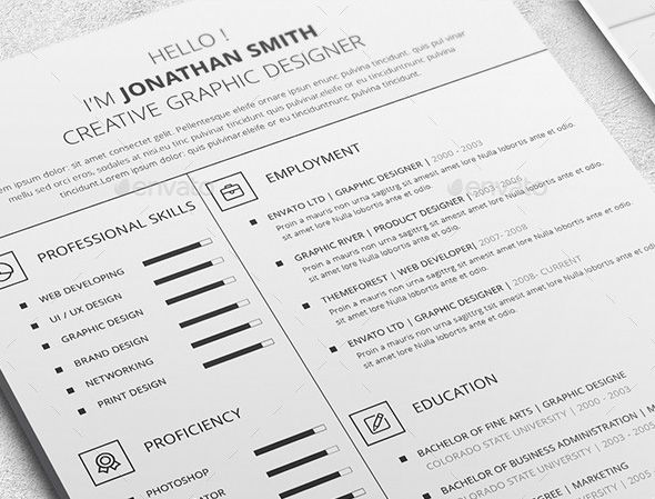 How To Write A Functional Or Skills Based Resume With Examples Templates Envato Tuts Busines Resume Skills Resume Writing Examples Resume Skills Section