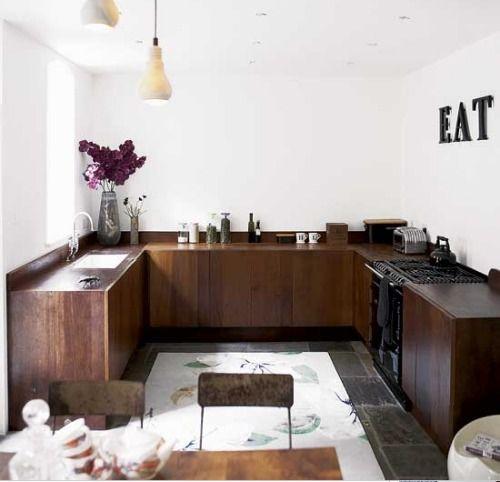 blad: Cocinas sin muebles sobre mesada... | Cocinas | Pinterest ...