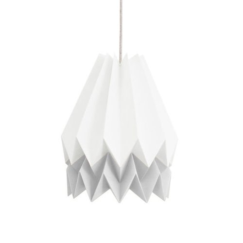Pack 10 Red and White Origami Crane Birds | 500x500