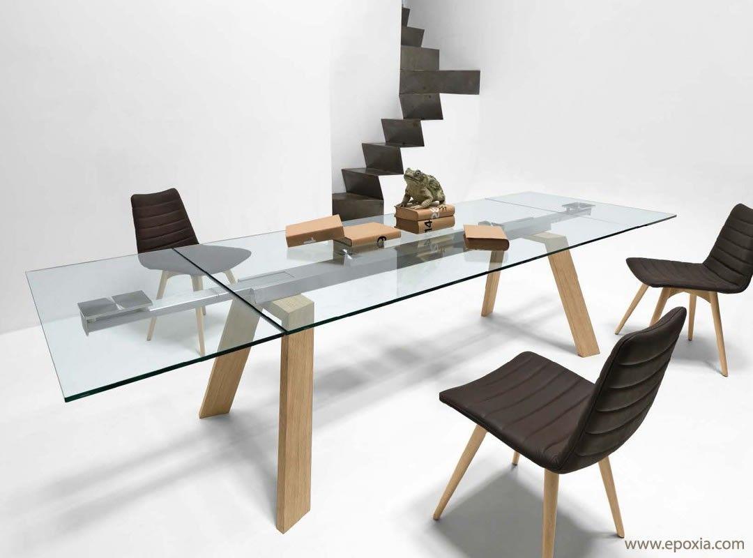 """résultat de recherche d'images pour """"table verre rallonge design"""