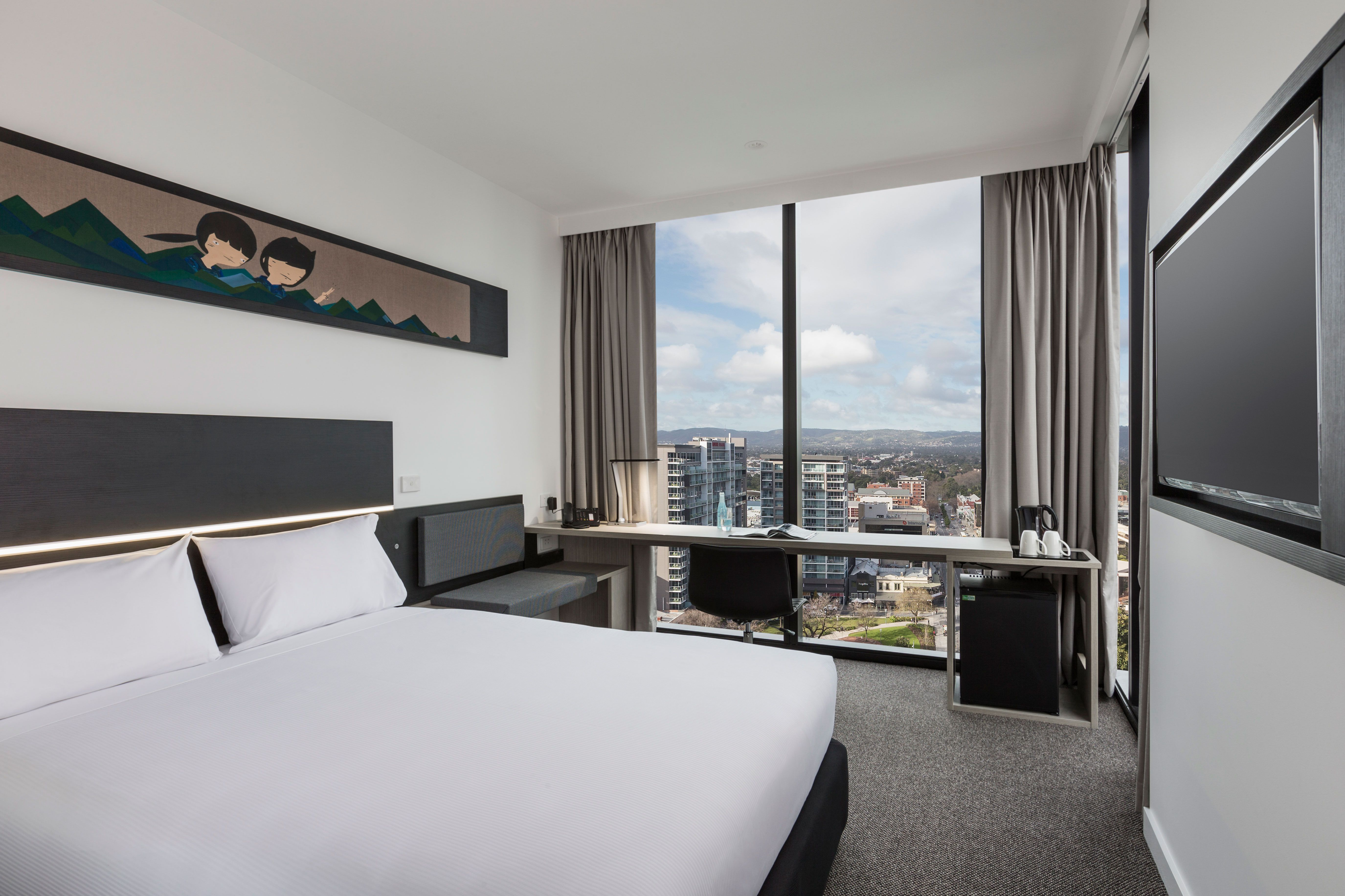 Ibis Hotel Adelaide with Workspace Commercial Furniture ...