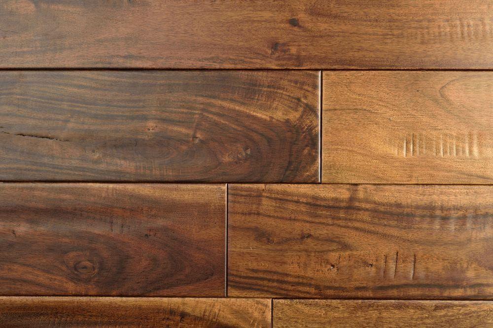Acacia Distressed Solid Wood Walnut / Acacia / ABC / 3/4