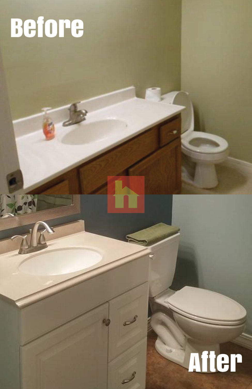 Bathroom Makeover By Cortni W Springfield MO I Purchased A - Bathroom fixtures springfield mo