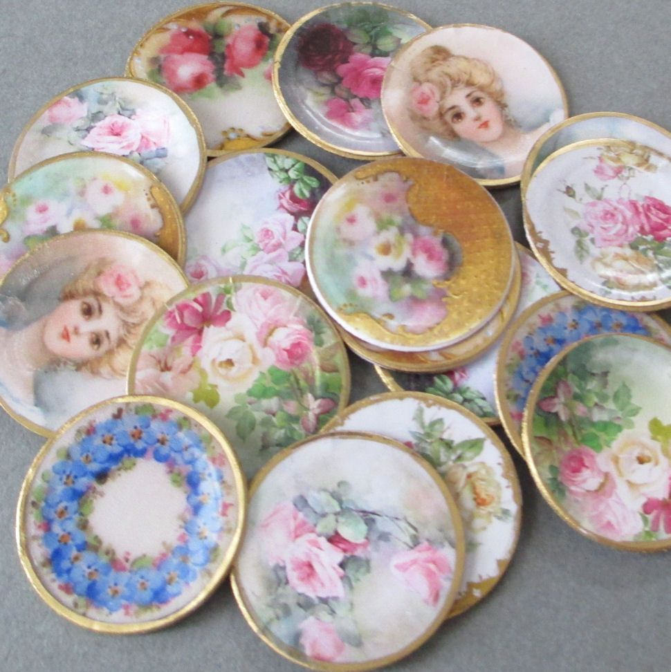 Mini Dollhouse Plates
