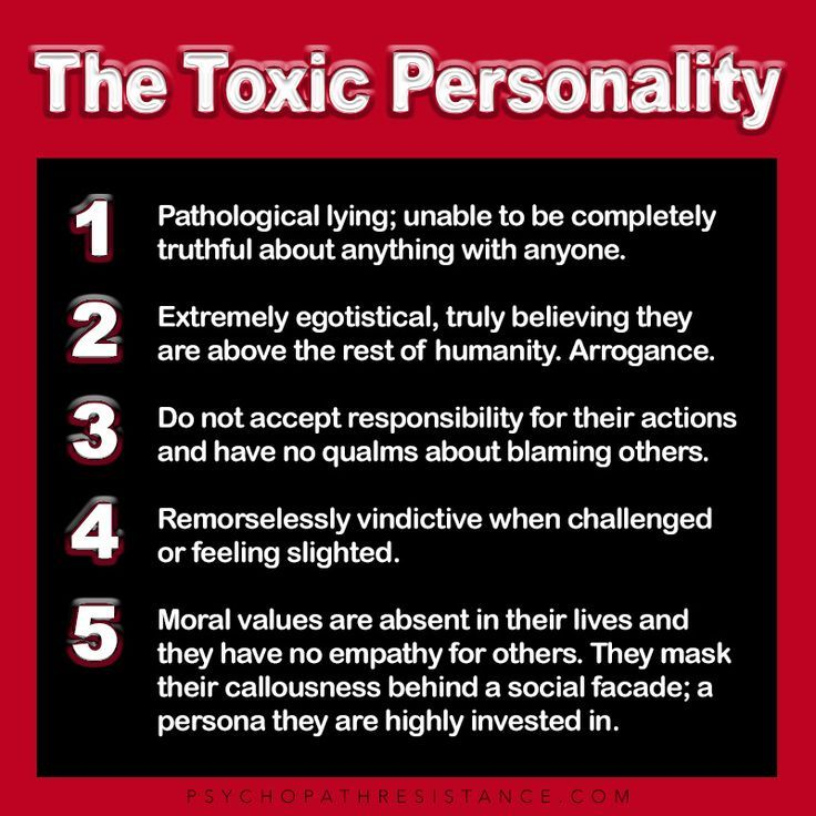 How Not To Be A Toxic Person