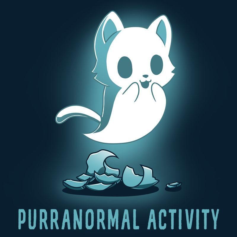 Purranormal Activity T-Shirt TeeTurtle